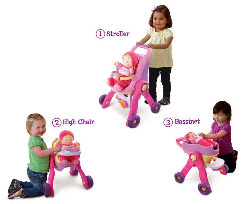 VTech Baby Amaze 3-in-1 CareLearn Stroller