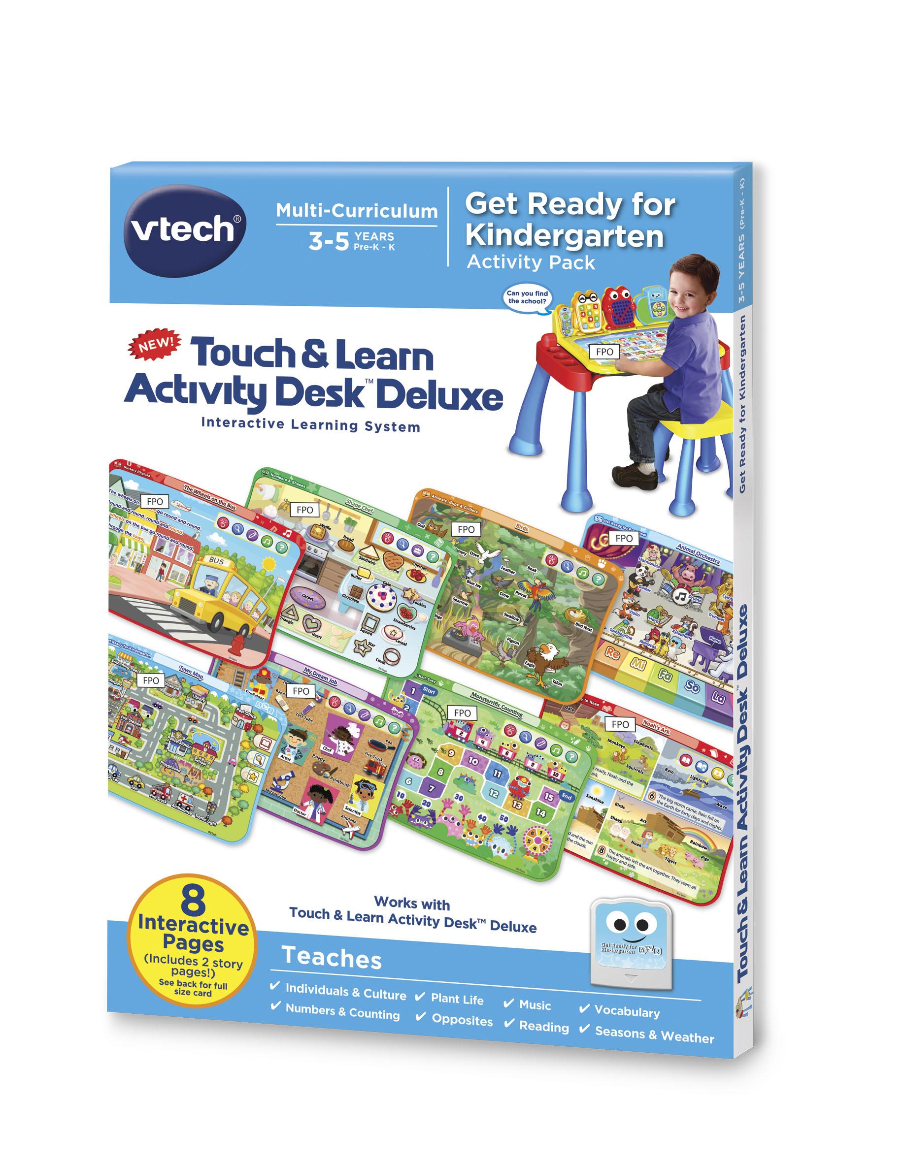 Activity Desk Deluxe - Get Ready for Kindergarten