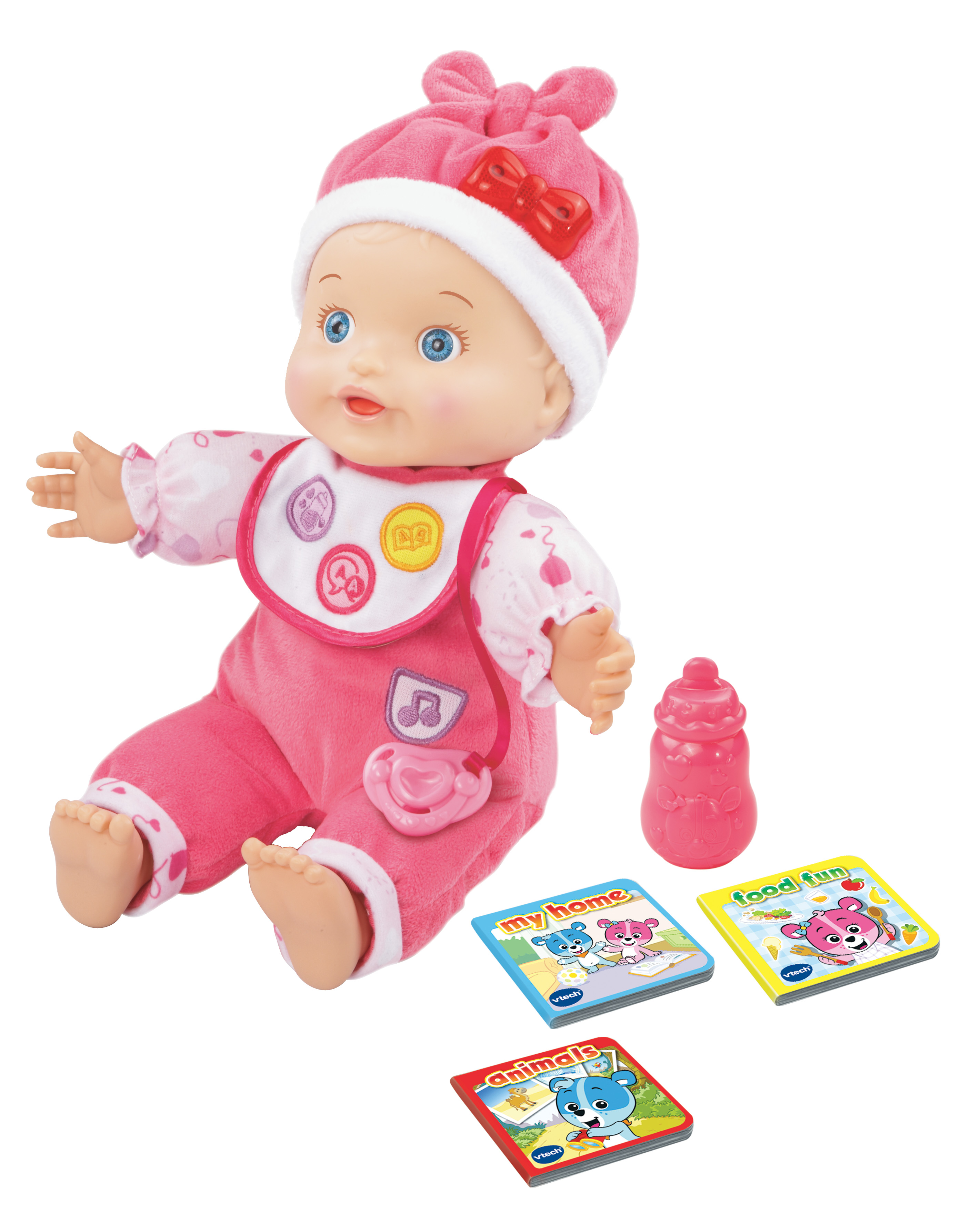 Baby Amaze Learn to Talk & Read Baby Doll