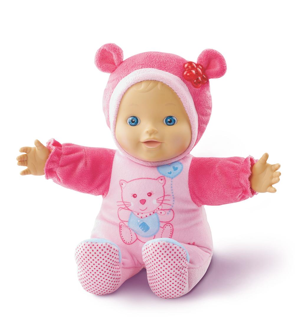 Baby Amaze Peek & Learn Doll - sitting