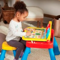 Touch & Learn Activity Desk - lifestyle girl